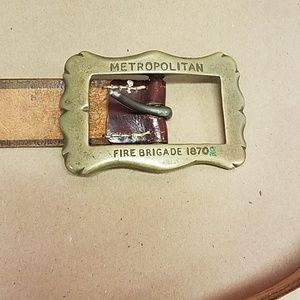 Brass Buckle with Belt